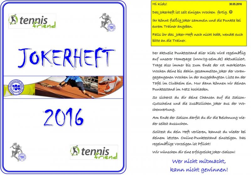 Jokerheft 2016