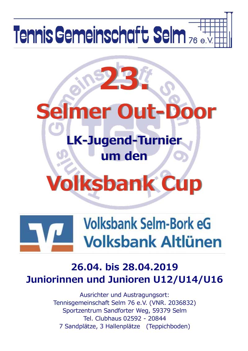 23. Selmer Out-Door um den Volksbank Cup